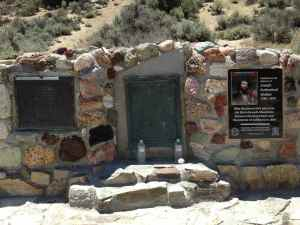 "Monument to explorer Joseph Rutherford Walker who ""discovered"" Walker Pass (with help from the natives)."