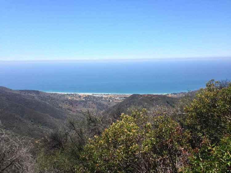 From Zuma Ridge Trail