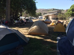 Hike & Bike Camp at Refugio State Beach