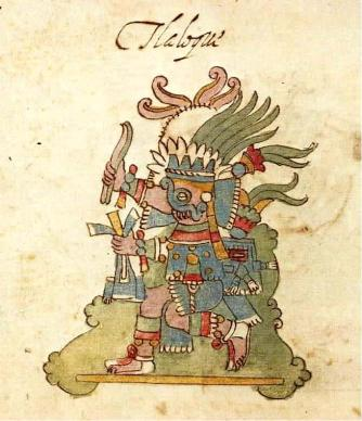 Tlaloc from Codex Rios