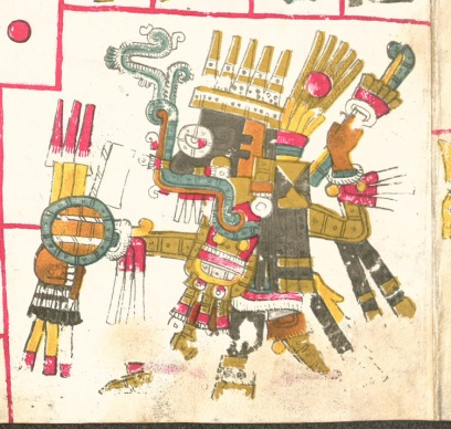 Tlaloc from Codex Borgia